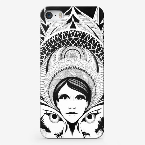 Чехол iPhone «Северная принцесса»