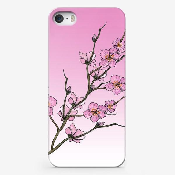Чехол iPhone «Цветущая вишня»