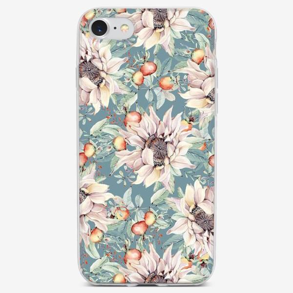 Чехол iPhone «Тихий август»