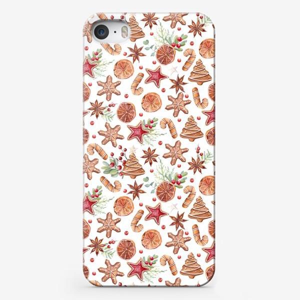 Чехол iPhone «Весело и сладко»