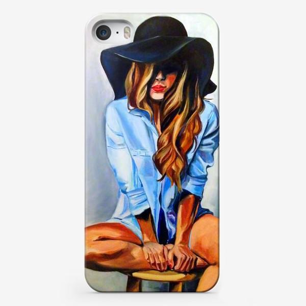 Чехол iPhone «Гламурная шляпа»