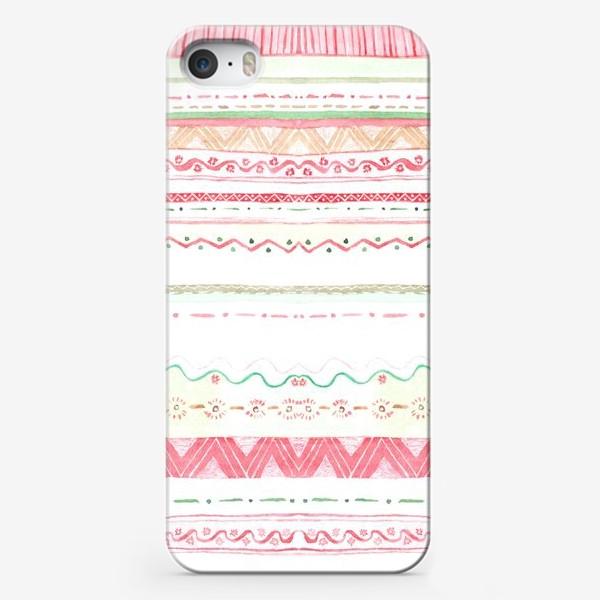 Чехол iPhone «Абстрактный фон на тему рождества 2»