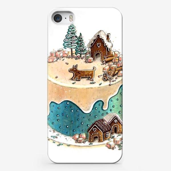 Чехол iPhone «НОВОГОДНИЙ ТОРТ»