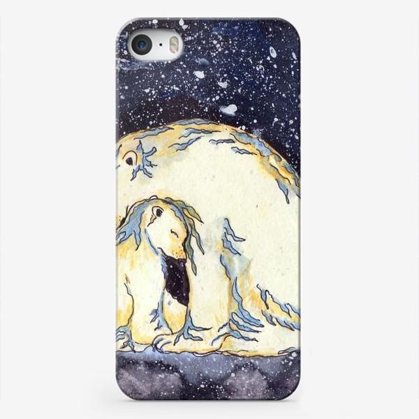 Чехол iPhone «Медведица»