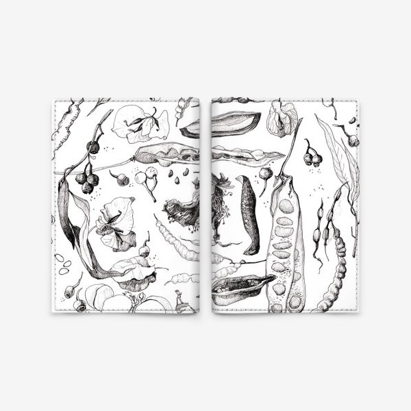 Обложка для паспорта «Сокровища ботаника»