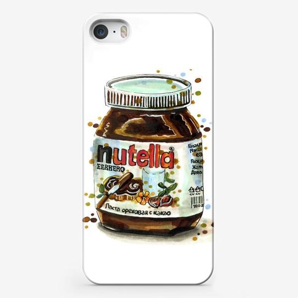 Чехол iPhone «НУТЕЛЛА»