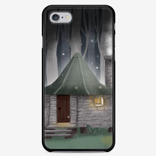 Чехол iPhone «Хижина Хагрида (фан-арт по Гарри Поттеру)»