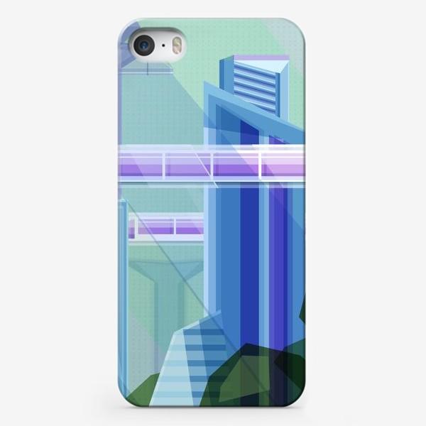 Чехол iPhone «Летний город»
