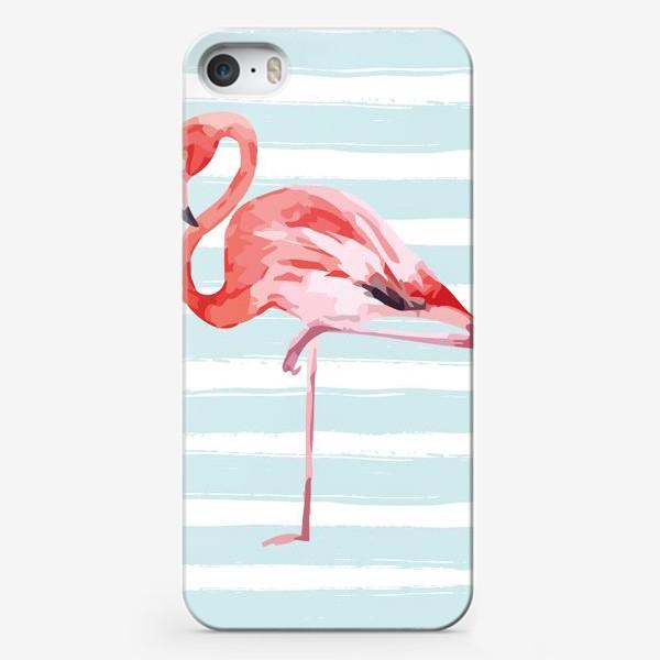Чехол iPhone «Фламинго»