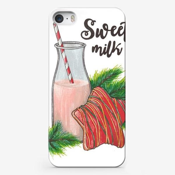 Чехол iPhone «Sweet milk / Сладкое молочко»