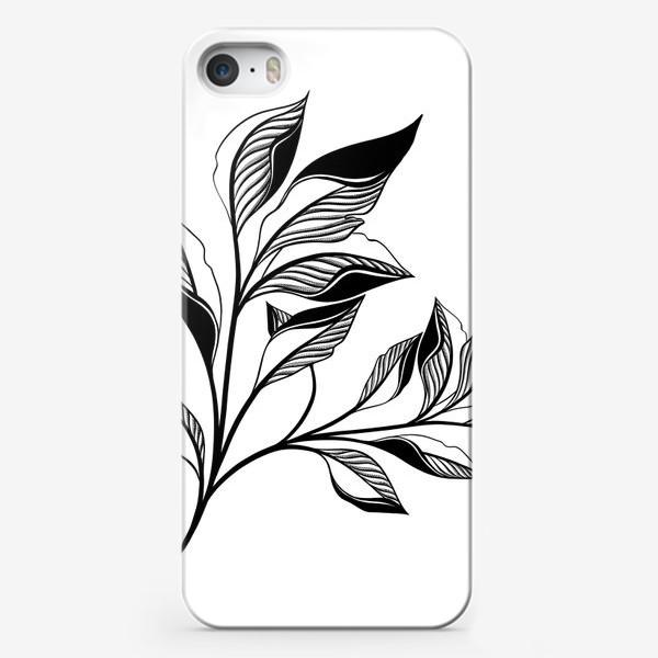 Чехол iPhone «Branch of  leaves»