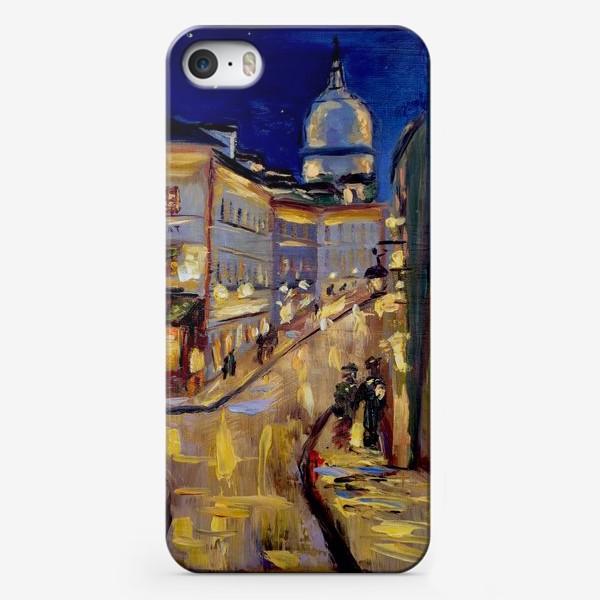 Чехол iPhone «Ночной Париж»