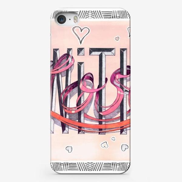 Чехол iPhone «Love_03»