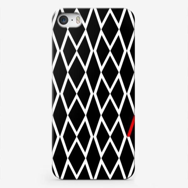 Чехол iPhone «паттерн м»