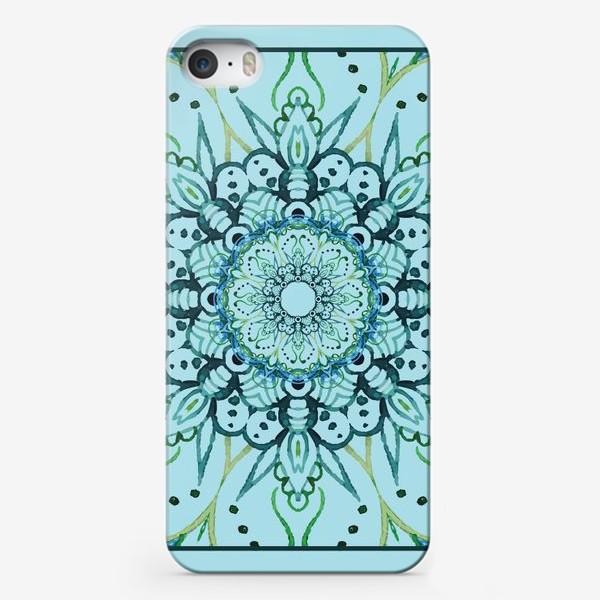 Чехол iPhone «Гжель»