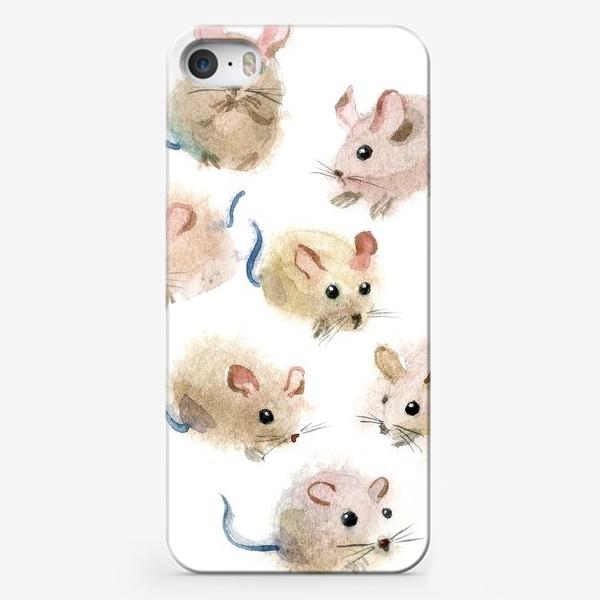 Чехол iPhone «МЫШИ»