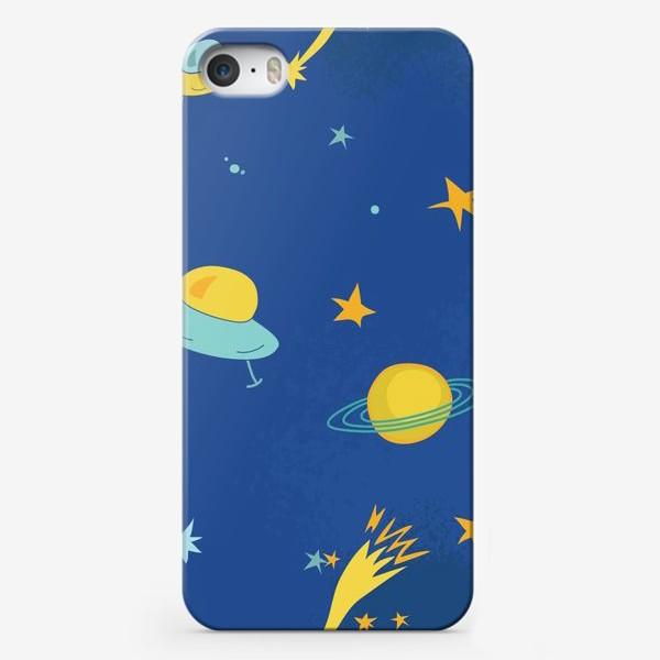 Чехол iPhone «Космос. НЛО»