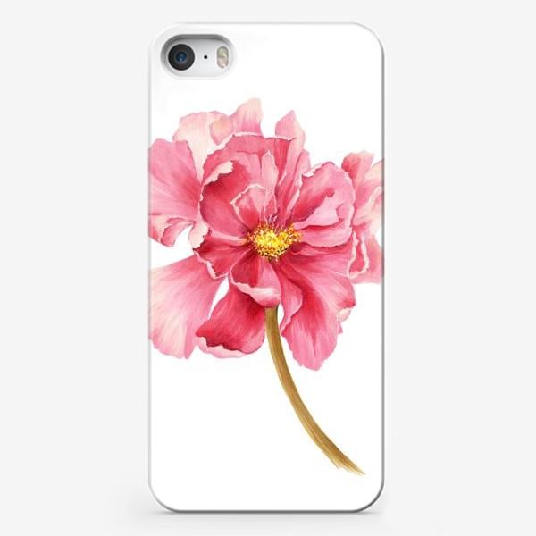 Чехол iPhone «Coral peony»
