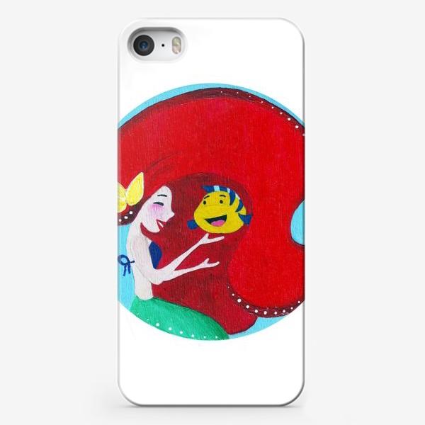 Чехол iPhone «Русалка»