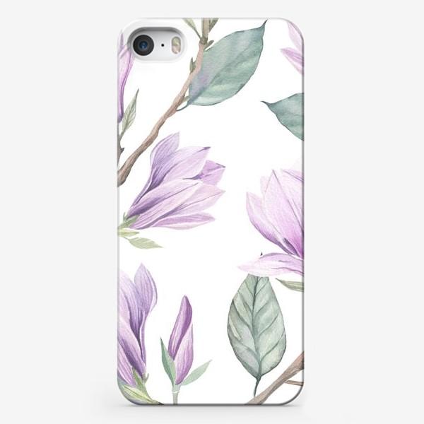 Чехол iPhone «прекрасная магнолия»