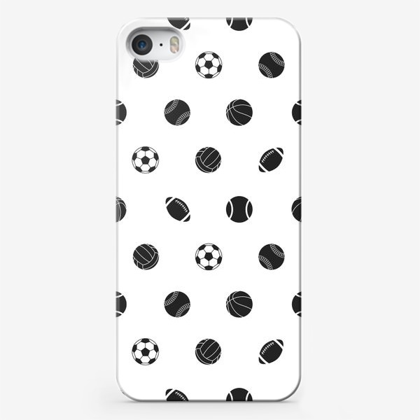 Чехол iPhone «Спортивный паттерн 2»