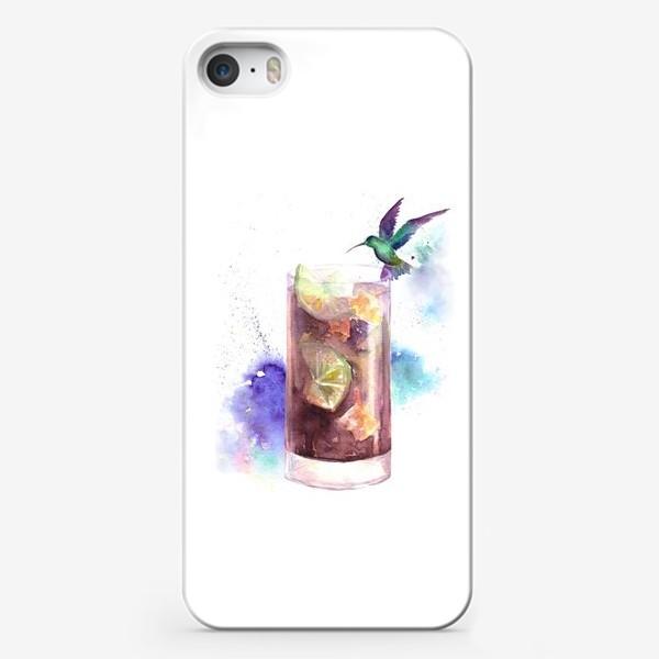 Чехол iPhone «Коктейль Куба либре»
