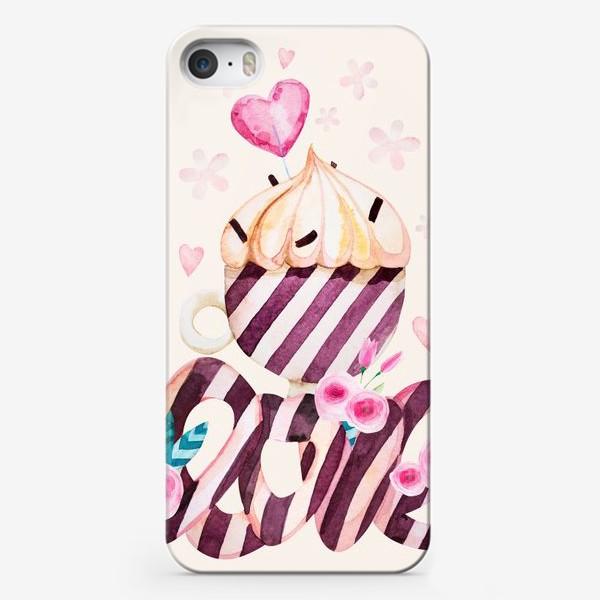 Чехол iPhone «Чашка кофе с любовью»