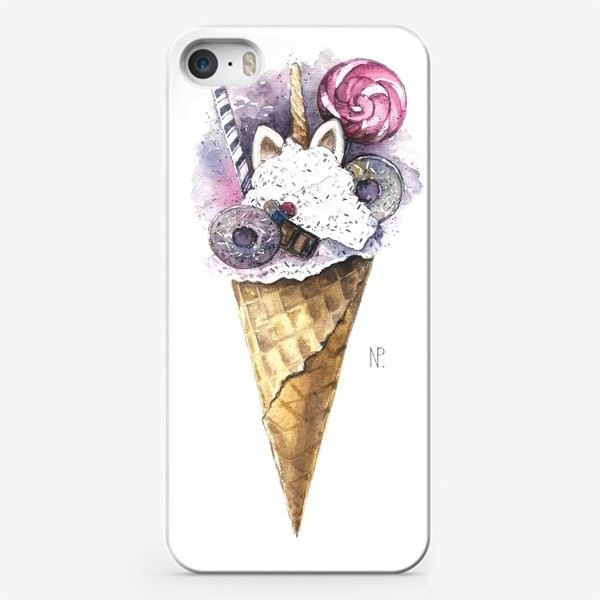 Чехол iPhone ««Волшебное мороженое» »