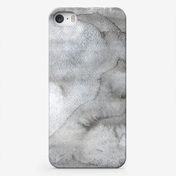 Чехол iPhone «Абстрактный акварельный фон с пятнами краски.»