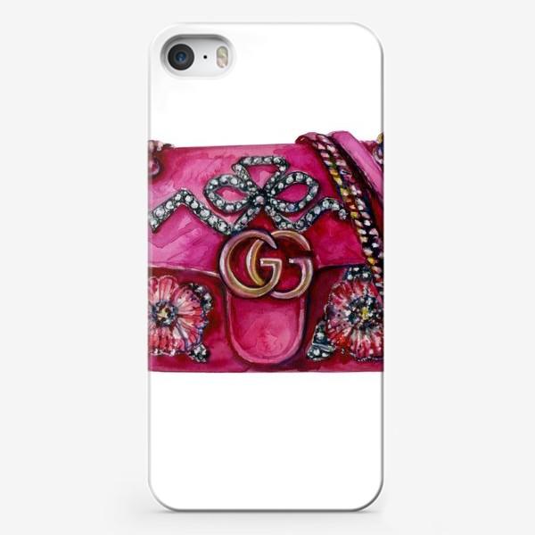 Чехол iPhone «Модная сумка»