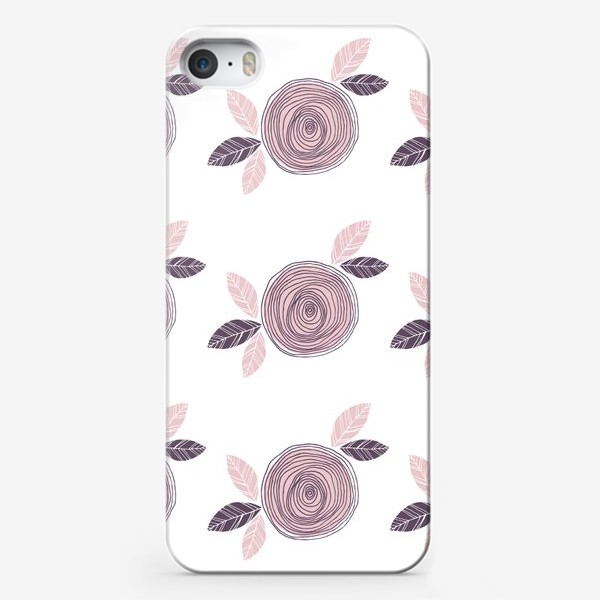 Чехол iPhone «Pale pink roses»