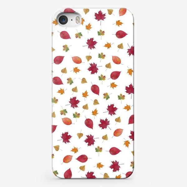 Чехол iPhone «Осенние листья»