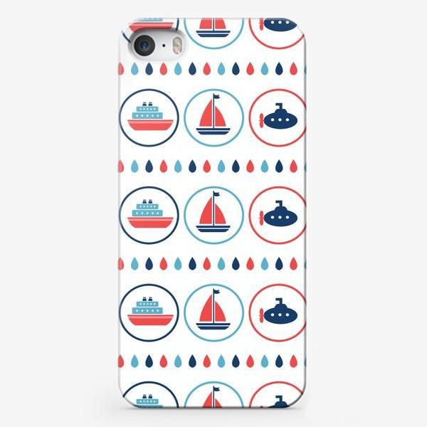Чехол iPhone «Водный транспорт»