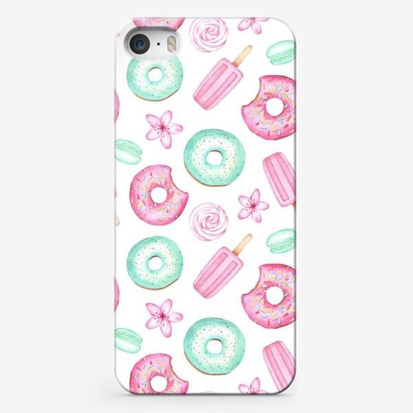 Чехол iPhone «Пастельные Сладости »