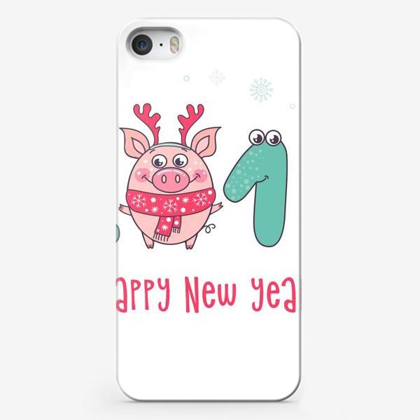 Чехол iPhone «С Новым 2019 годом!»