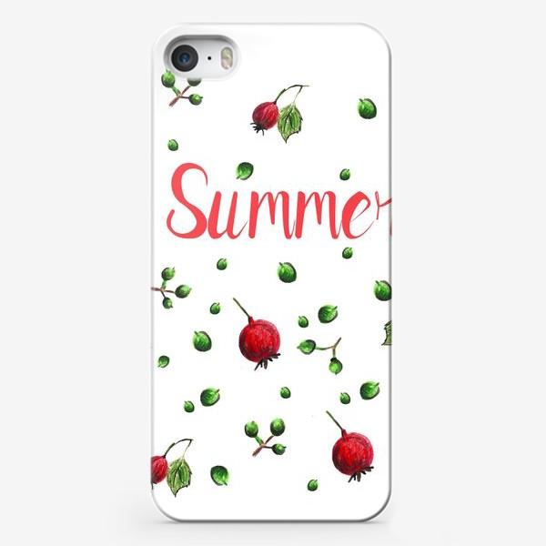 Чехол iPhone «Summer»