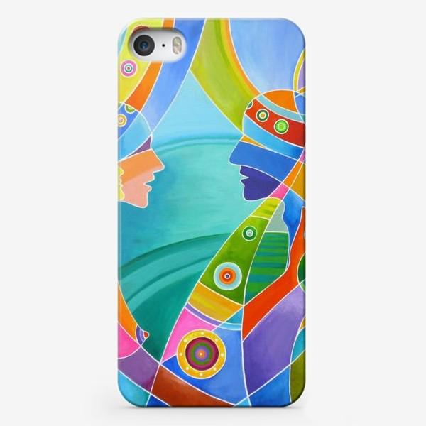 Чехол iPhone «Гармония любви»