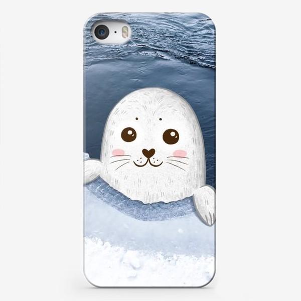 Чехол iPhone «Милый тюлень»