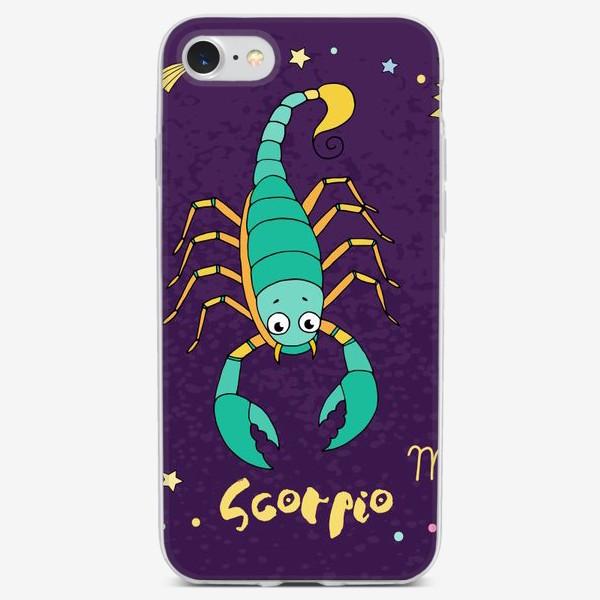 Чехол iPhone «Космос. Скорпион»