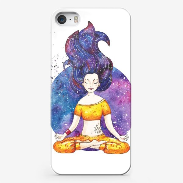 Чехол iPhone «Тайна йоги»