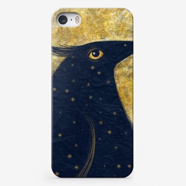 Чехол iPhone «Космо-птица»