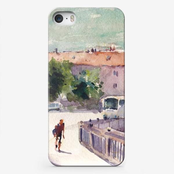 Чехол iPhone «Лето в городе. Жара в Которе. Черногорская серия.»