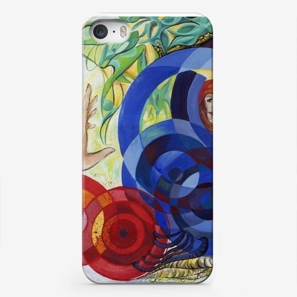 Чехол iPhone «Весна притяжений»