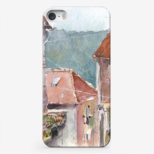 Чехол iPhone «Старый город. Улочки Котора. Черногорская серия. »