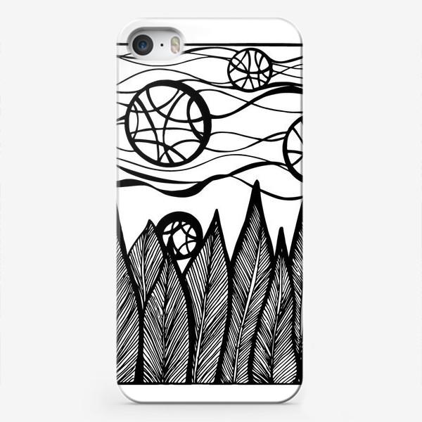 Чехол iPhone «Космический лес»