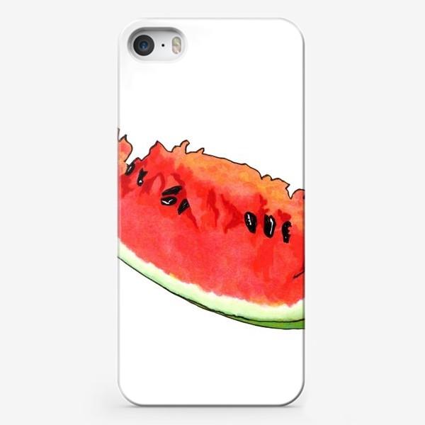 Чехол iPhone «Жизнерадостный арбуз»