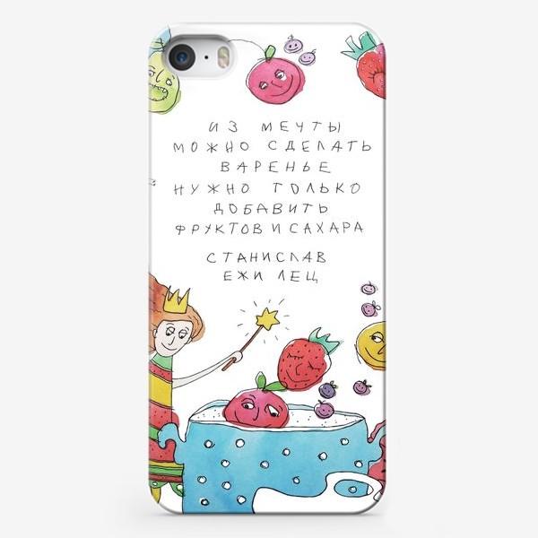 Чехол iPhone «Афоризм. Мечта.»