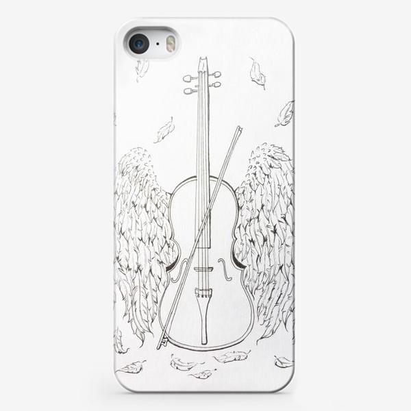 Чехол iPhone «Музыка окрыляет»