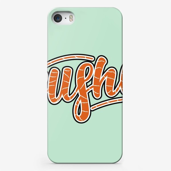 Чехол iPhone «sushi lettering»
