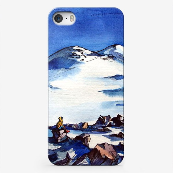 Чехол iPhone «В горах 3»